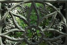 gates & beautiful ironwork / Gates and ironwork / by cindi hawkins