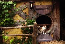 Hobbit Cat House / by Lauren McCormick Fisher