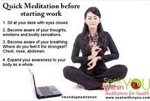 mindfullness and meditation