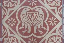 Középkori textil minták