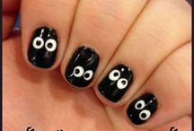 Halloween nail ideas / Some really cute nail art ideas