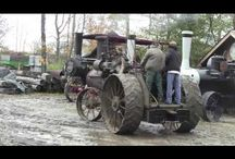 Traktorista / Traktorista, old tractors, steam traction engine