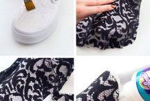 customização calçados