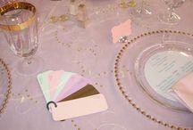 Julie's Wedding DIY