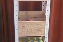 bricolage caisses à vin