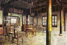 Художник Xi Guo / Си Го родилась и выросла в Шанхае, Китай.  Она начала учиться живописи, когда она была маленькой девочкой.  Получила степень бакалавра изобразительных искусств в масляной живописи из Шанхая педагогического университета. После окончания  преподавала живопись и графический дизайн в Шанхае колледжа искусства и ремесел. В настоящее время она изучает изящные искусства в Саванна колледж искусств и дизайна (SCAD) по специальности фотографии.