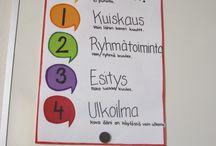 Luokkahuone / Ideoita luokkahuoneeseen
