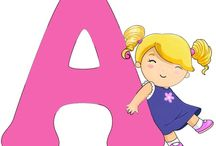 ABC KIDS II / Abecedario Infantil de Niñas