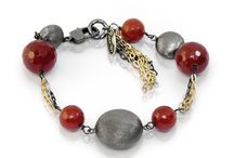Seta - red passion / #jewels #MadeinItaly #ItalianPassion #DolceVita #collezioneSeta #red #carnelianstones