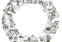 Moomins / tove & art