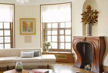 Art Nouveau/Art Deco Home Decor / adding Art Nouveau touches to a transitional style home