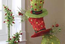 Filz-Weihnachtsdekorationen