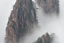 Montagnes et rocher / photos d'inspirations pour le digital painting