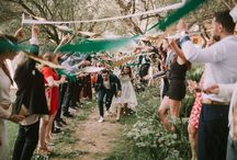 "Festival Style Wedding in Provence, in the South of France / ""WoodLove Wedding Festival"", the Wedding of Manon and Theo, an amazing Festival Wedding with DIY, Natural, and Vintage decor, in Provence, South France."