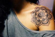 tattoo / шея, запястье, ухо, лодыжка