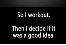 Exercise & Fitness Inspirational and Motivational Quotes / Get inspired and motivated to get in shape and become your best self.