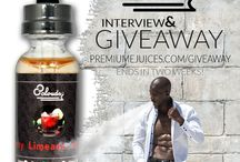 Premium e Juice Giveaways! / PremiumeJuices.com and VAPEMagazine.com host on-going giveaways!