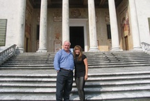 IDI Visit to Italy  / Professor Don Gardner leads students through an informative and educational architectural tour of Italy