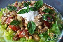 Jídlo - saláty