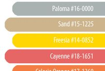 2014 spring colours / Having a spring wedding this year? See what are the colours for this spring.