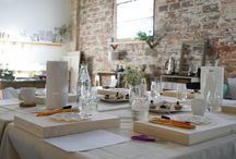 Creativity Wells / Glimpses of workshops led by me in the studio and beyond.