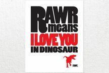 T-Rex love / by Rania Kazan