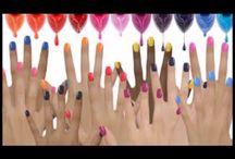 nail art givré