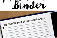 vacation journaling