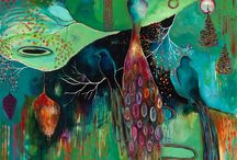art :: intuitive & landscape / by Heather Gerni