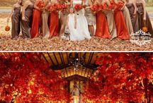 Wedding Ideas - Rust & Orange