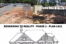 R2R - Phase 1 / Our Rendering to Reality series shows you Donald Gardner home plans through-out the entire building process. Phase 1 is foundation!