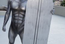 Silver Surfer Costume / Stay in touch on Facebook! https://www.facebook.com/maskerix/