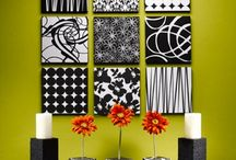 Color on the walls.. / Wall décor