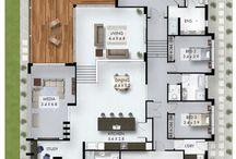Diseño plantas casas