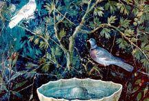 Fresco. Mosaic