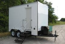 Shower Trailers / Rich Specialty Trailers manufactures and sells shower trailers for everybody from Firefighters to construction workers in the field.