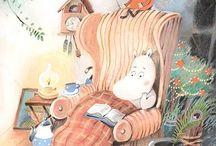 Tove Jansson and Moomins