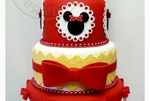 Minnie & Mickey Mouse Cakes