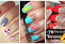 Uñas / Decoración de uñas para el verano
