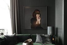 Monochrome livingroom