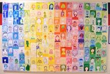 ritratti e colori