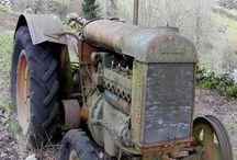 Traktor rusty