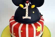 Primo compleanno tema topolino