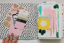 ART • Sketchbook / Creative sketchbooks