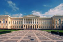 Russian Museum / The Mikhailovsky Palace — former Palace of Grand Prince Mikhail Pavlovich, son of Emperor Paul I. In 1895, it placed the Russian Museum.