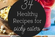 Picky Eaters / With ideas like food art, fun recipes and great tips and tricks to help encourage even your pickiest eater!