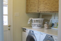 Decorating - Laundry room / by Krista Wasinger