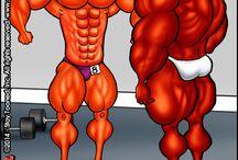 Muscle Toonz / Comic Stips