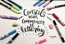 Yeeaaahh… lettering… let's begin ;-))