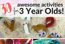 activities 3 jears